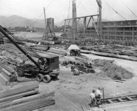 [West Coast Shipbuilders Limited site under construction]