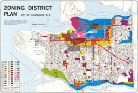 Zoning District Plan : City of Vancouver, British Columbia