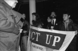 Act up : Pan Pacific Hotel [John Kozachenko, second from right]