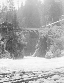 Japanese Bridge over Capilano Canyon