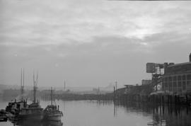 [View on False Creek near the gas works]