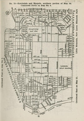 Sectional map and street directory of Vancouver, British Columbia : [Ontario Street to King Edwar...