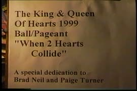 King and Queen of Hearts 1999 ball/pageant : when two hearts collide