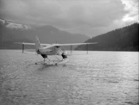 [Canadian Pacific Airlines seaplane getting ready for take-off]