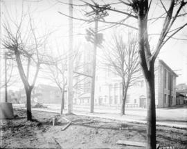 [View of Burrard Street near Nelson Street]