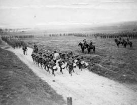 [7th Battalion, Canadian Infantry C.E.F. on inspection parade]