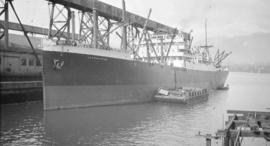 "[M.S. ""Lochkatrine"" at Canadian Government elevator dock]"