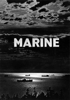Marine [title page photograph of ships in the harbour]