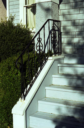 Stair railing [Unidentified property]
