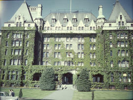 Empress Hotel, front (west) facade