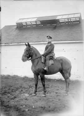 [Soldier mounted on a horse]