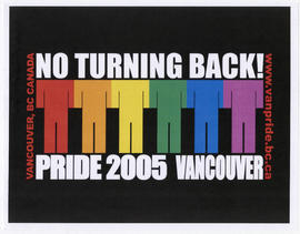Pride 2005 Vancouver : no turning back! : www.vanpride.bc.ca