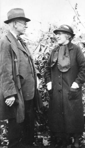 [Harry T. Devine and his sister Mrs. Annie Black]