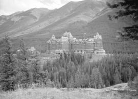 [View of Banff Springs Hotel]