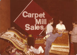 Carpet Mills Sales display booth