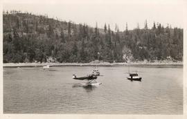 [Seaplane in bay]