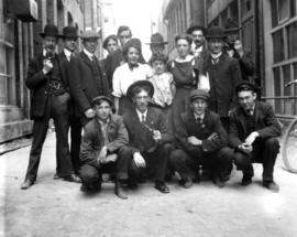 Group of Thomson Stationary Company employees