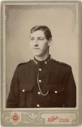[Portrait of unidentified police officer]