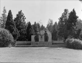[View of the Harding Memorial in Stanley Park]