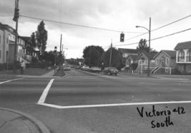 Victoria [Drive] and 12th [Avenue looking] south