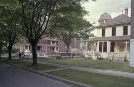 Early phase of Barclay Heritage Square restoration