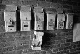 Mailboxes in Chinatown, Victoria, B.C.