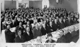 Vancouver Yukoners' Association banquet and ball - Hotel Georgia