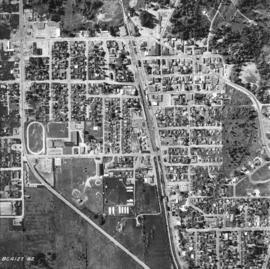 [Aerial photograph of Duncan B.C.]