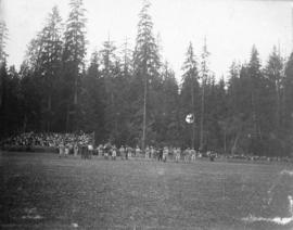 [Rugby game, Brockton Point, Stanley Park]
