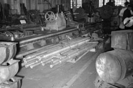 [Machinery and equipment at Vancouver Engineering Works]