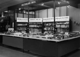 Holtzheuser Bros. display of imported Dutch goods