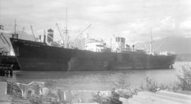 M.S. King Malcolm [at dock]
