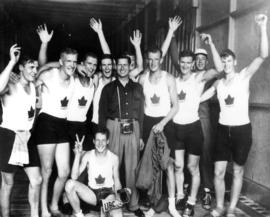 V.R.C. [Vancouver Rowing Club]/U.B.C. [University of British Columbia]B.E. & C. [British Empi...
