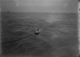Swimmer being towed