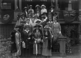Lord Byng visit - group of women