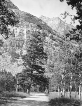 [Bertha Mountain in Waterton Lakes National Park]