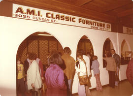 A.M.I. Classic Furniture Ltd. Display booth