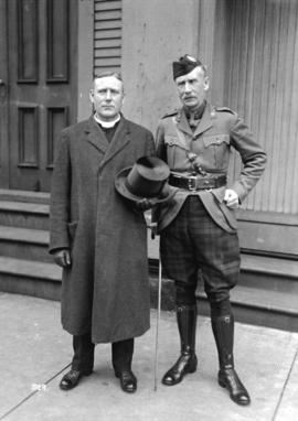 "Rev. Dr. Wilson and ""Ralph Connor"" [pseudonym for Rev. Charles William Gordon, Canadian..."
