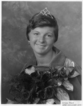 Arlene Ward, Miss Nanaimo 1975 : [portrait]