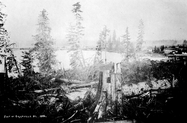 1886 Foot of Granville