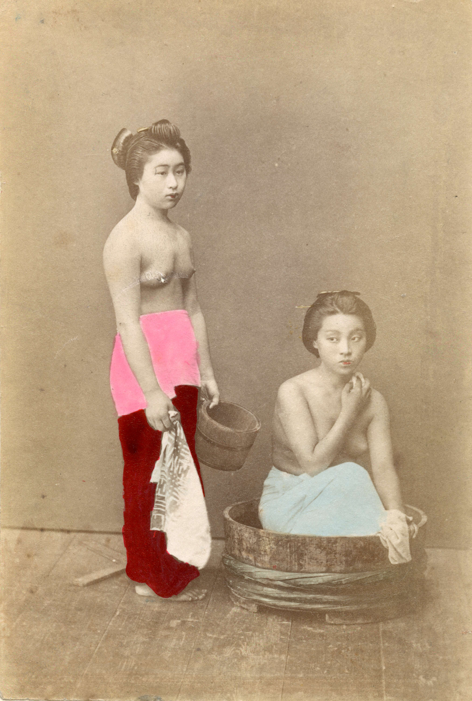 topless women photographs