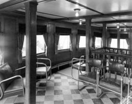 "[Interior passenger deck of the Union S.S. ""Lady Cynthia""]"