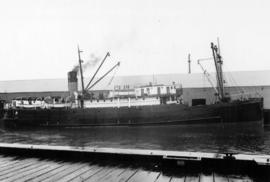 "[S.S. ""Cassiar"" at dock]"