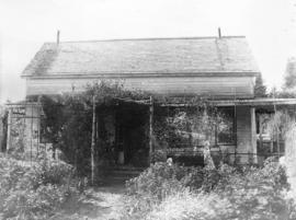 [Exterior of the Landvoight cottage]