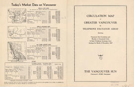 Circulation map of Greater Vancouver : today's market data on Vancouver