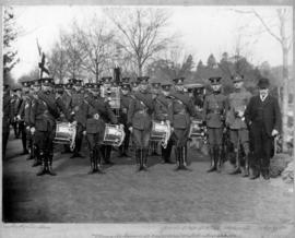 "Vancouver Canadian ""cadet corps"" at Melb[ourne] Australia, 1912"