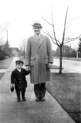 John [Banfield] and his dad [W.O. Banfield]