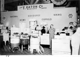 T. Eaton Co. display of household appliances