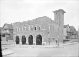 No. 3 Fire hall, corner 12th Avenue and Quebec Street