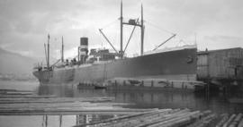 S.S. Collegian [at dock]